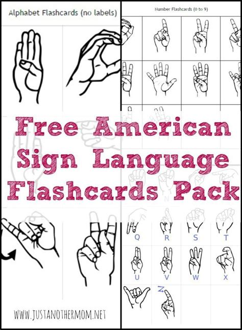 sign language letters this week s freebie on just another is a free asl 10224