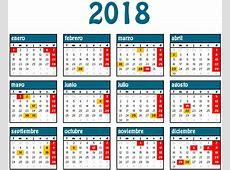 Calendario laboral para el año 2018 Blog Lafisco