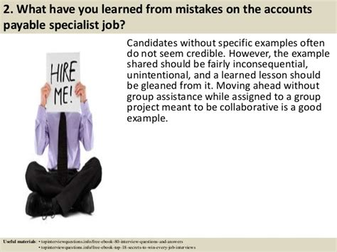 Questions For Accounts Payable Position by Top 10 Accounts Payable Specialist Questions And