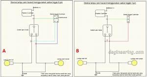 Azis Muslim   Cara Mudah Membuat Lampu Hazard Motor Sendiri