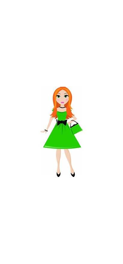 Clipart Pretty Clip Young Debutante 1102 1512
