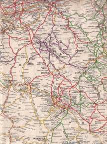Old Maps of West Midlands County