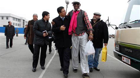rodman returns  north korea video nytimescom