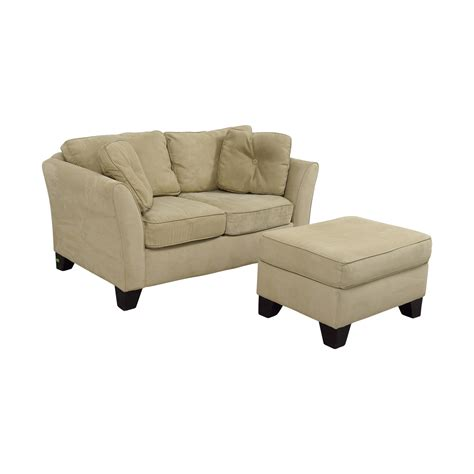 macy s sofas and loveseats 86 off macy 39 s macy 39 s tan loveseat with ottoman sofas