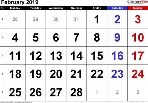 calendar february uk bank holidays excelpdfword templates