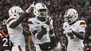 Hurricanes end skid, secure bowl eligibility with 38-14 ...