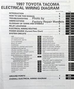 1997 Toyota Tacoma Electrical Wiring Diagrams Original