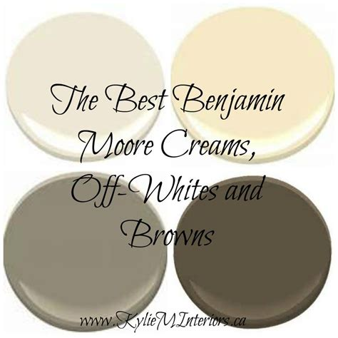 colour review benjamin moore 3 best off white paint