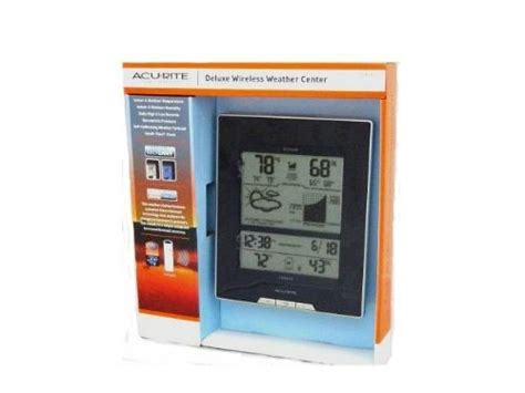 Acurite Deluxe Wireless Weather Center With Forecast