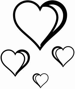 Black And White Heart Clip Art - ClipArt Best