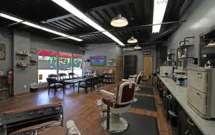 salon design ideas barber shop layout modern with small