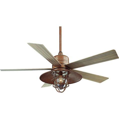 rustic farmhouse ceiling fan hton bay metro 54 in rustic copper indoor outdoor