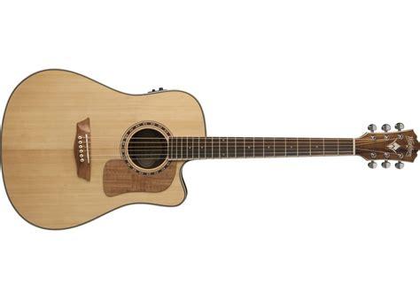 Washburn WCSD50SCEK Woodcraft Series Acoustic Electric Guitar
