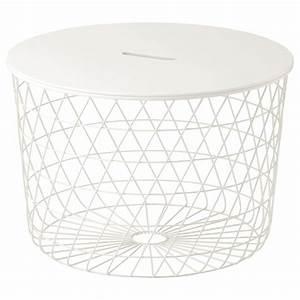 Table Basse Panier : kvistbro table de rangement blanc 61 cm ikea ~ Teatrodelosmanantiales.com Idées de Décoration