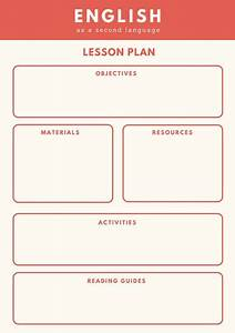 customize 1313 lesson plan templates online canva With efl lesson plan template