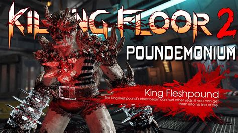 killing floor 2 poundemonium weekly outbreak gameplay