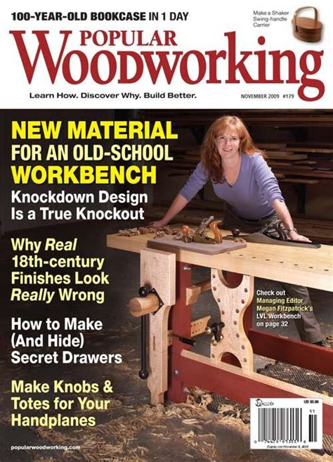 popular woodworking november  digital edition