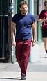 Jonah Hill Walks Through NYC in Muscle-Baring T-Shirt ...