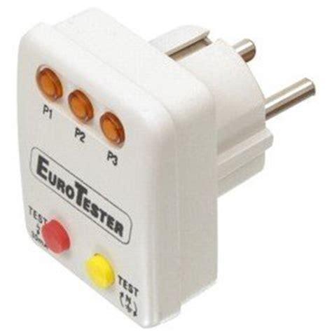 bureau of meter testeur controleur de prise electrique a led normes phase