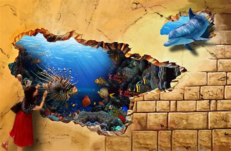 3d paintings on wall cool 3d wall paintings www pixshark com images galleries with a bite