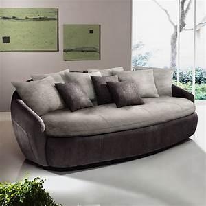 Sofa Mit Breiter Sitzfläche : hjh office 713325 loungesofa aruba kunstleder 2 sitzer braun smash ~ Bigdaddyawards.com Haus und Dekorationen