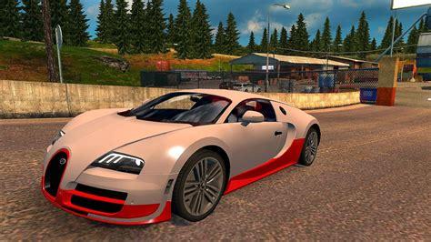 Bugatti Truck by Bugatti Veyron Ets2 Truck Simulator 2 1 27