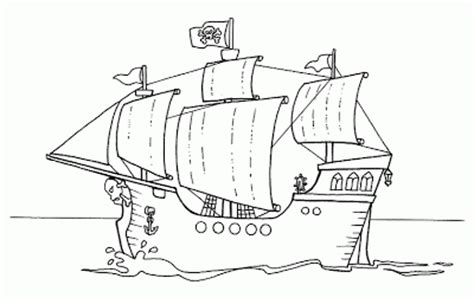 Barco Pirata Para Dibujar by Blog Megadiverso Barcos Piratas Para Descargar Y Colorear