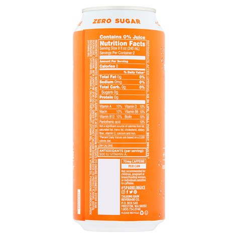 30 Sparkling Ice Water Nutrition Label Labels Database 2020