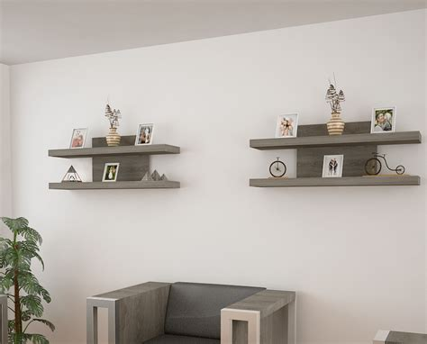 variedad de repisas  organizar  decorar  home