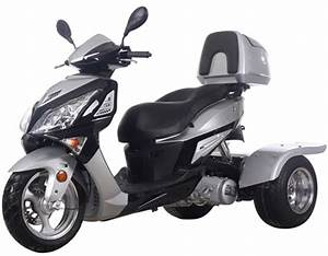 Ice Bear Hawk 150cc Motor Trike Pst150