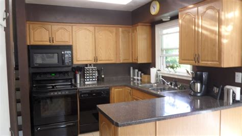 Kitchen Color Ideas With Oak Cabinets - kitchen paint colors for honey oak cabinets home improvement 2017 attractive painted kitchen