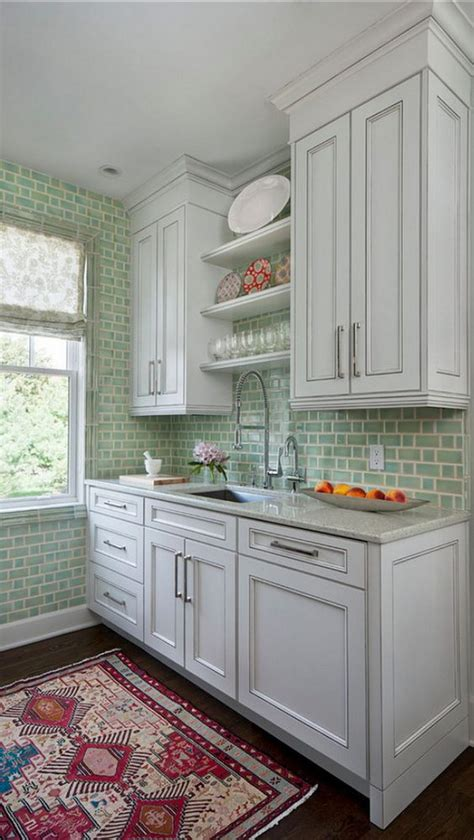 backsplash tile ideas small kitchens 35 beautiful kitchen backsplash ideas hative 7582