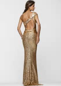 gold sequin prom dress pjbb gown