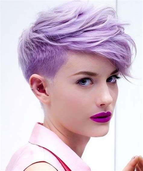 Pixie Cut Hairstyles by Undercut Pixie Hairstyles For 2018 2019