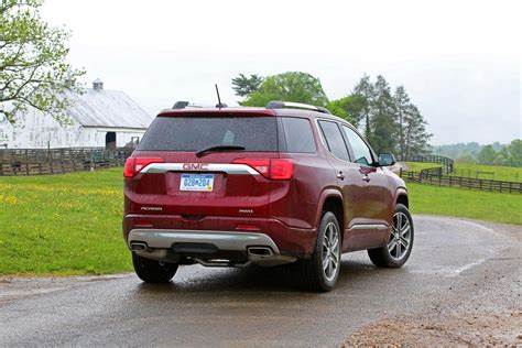 gmc acadia review release date features engine