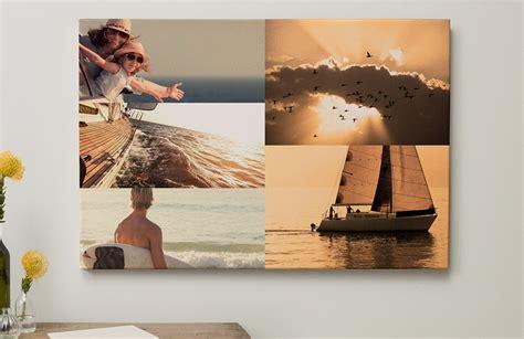 fotocollage maken creatieve wanddecoratie albelli