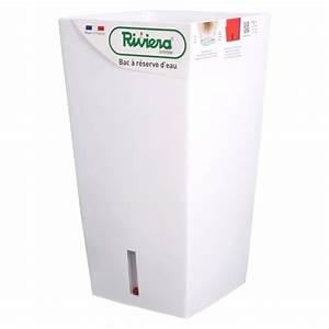 Bac Reserve D Eau : bac r serve d eau riviera carr 38x38 cm hauteur 69 cm ~ Melissatoandfro.com Idées de Décoration