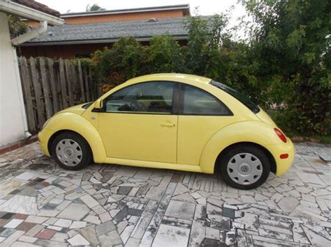 purchase used 2000 volkswagen beetle gl hatchback 2 door 2 0l in delray florida united