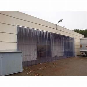 Rideaux De Porte Exterieur : rideau pvc transparent souple rideaux de porte pvc exterieur lani res transparentes ~ Dode.kayakingforconservation.com Idées de Décoration