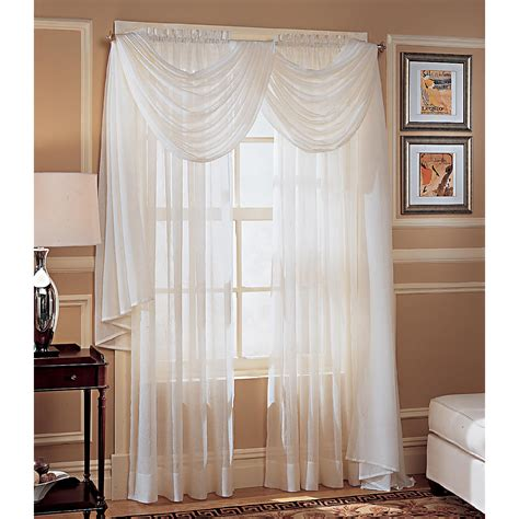 crinkled voile window panel dress your windows with sears