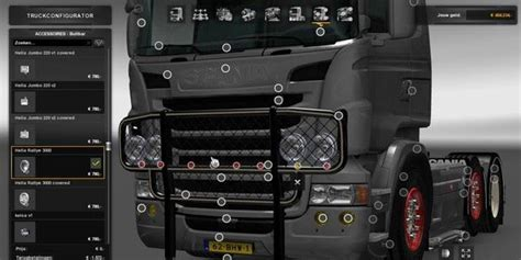 daf and scania bullbar 1 33 tuning mod ets2 mod