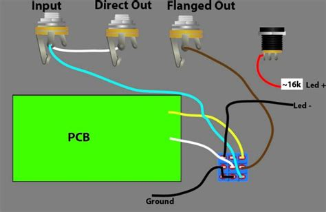Guitar Input Wiring White Wire Positive by Mod Your Deluxe Electric Reissue For True Bypass