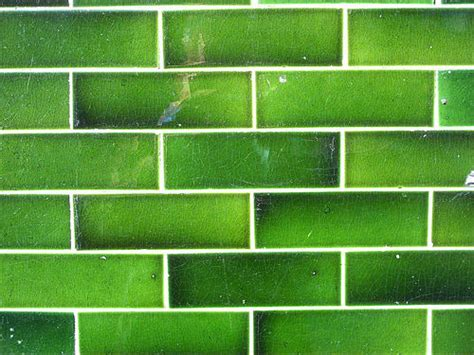 Glazed Green Tile  A Gallery On Flickr
