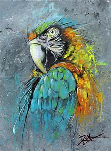 parrot abstract by puritanic.deviantart.com | Drawing ...