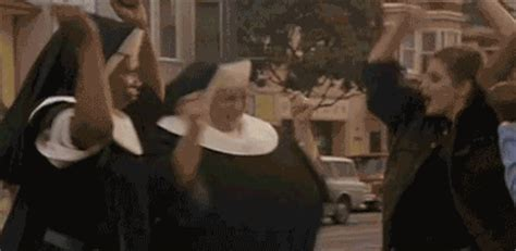 break   sister act gif find share  giphy