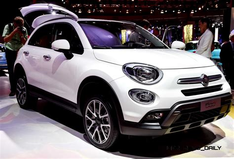 Who Makes The Fiat Car by 2016 Fiat 500x Makes Debut With Optional Awd And 9