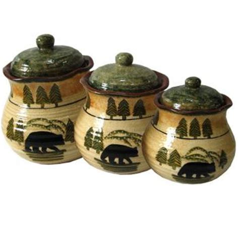 Rustic Kitchen Canisters by Cookie Jars Canister Sets Rustic Kitchen Decor