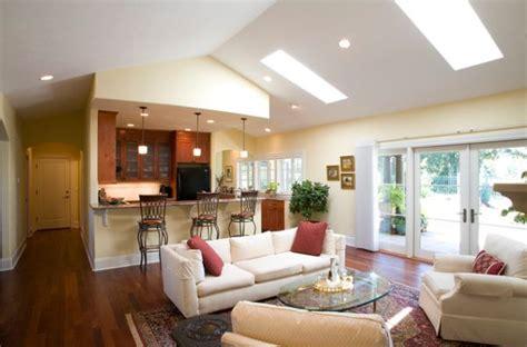 inspirational ideas  living rooms  skylights
