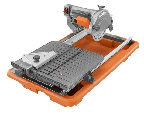 ridgid 7in tile saw with laser construction tools to simplify your constru gu 237 a al d 237 a