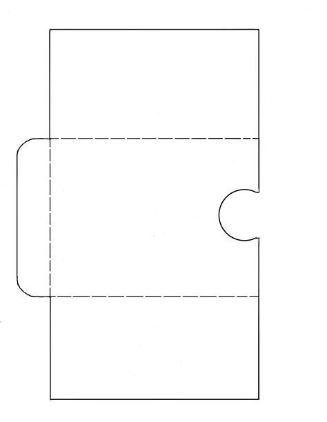printable pocket card template pocket letter template images pocket letters
